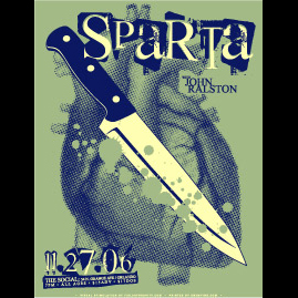 Sparta Screen Printed Poster-0