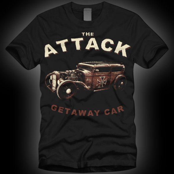 4 - The Attack Getaway Car T-shirt-0