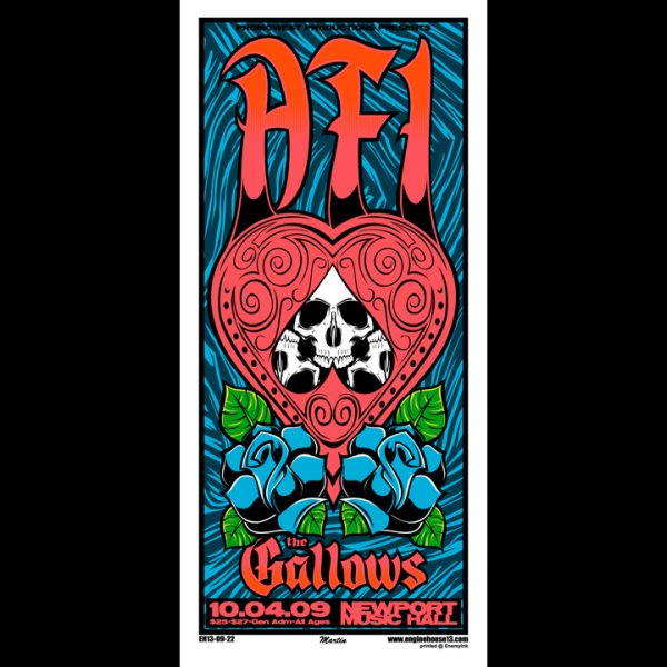 AFI screen printed poster-0