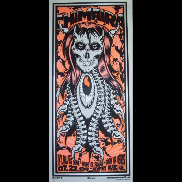 Chimaira screen printed poster-0