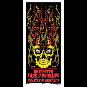 Hatebreed screen printer poster-0