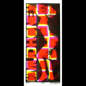 Mudhoney screen printed poster-0