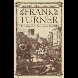 Frank Turner Screen Printed Poster-0
