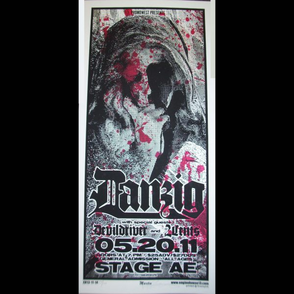Danzig Screen Printed Poster-0