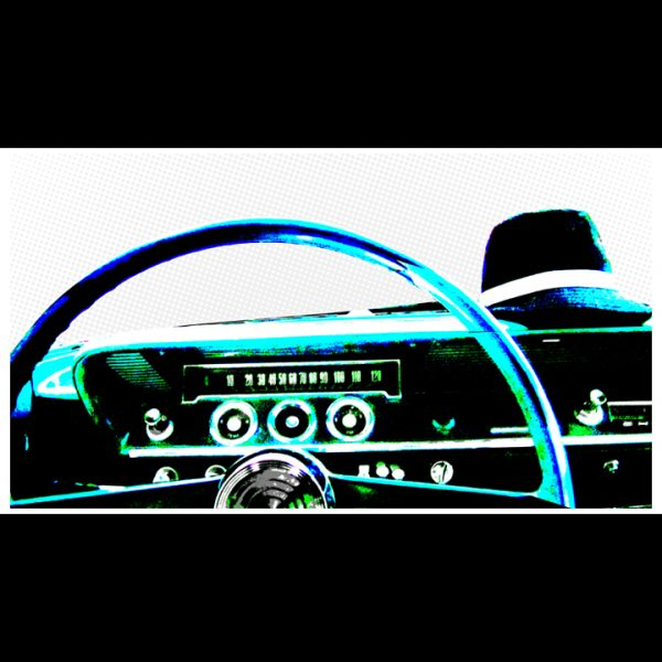 Dashboard Art Print-0