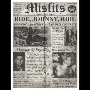 Misfits Long Island, NY 2013 screen printed poster-0