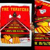 AUTOGRAPHED/FULL SET Toasters Screen Printed Tour Posters (Fall 2014) with The Attack-277