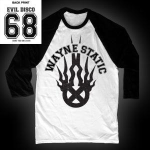 Wayne Static Baseball T-0