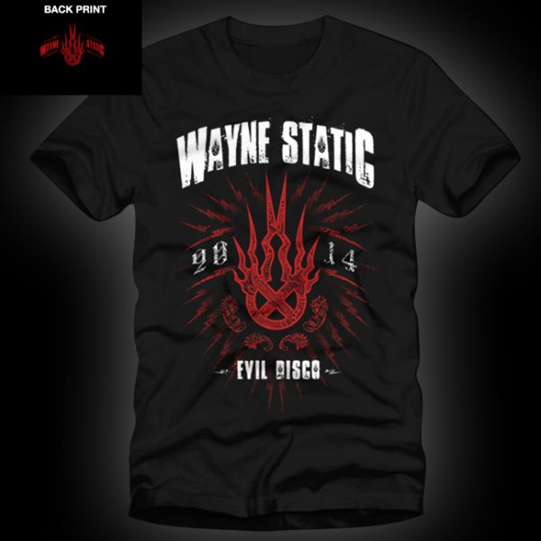 Wayne Static Stamp T Mens-0