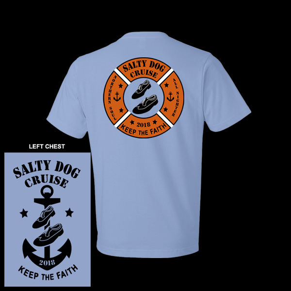 Flogging Molly Salty Dog Cruise - Northern Soul T (mens)