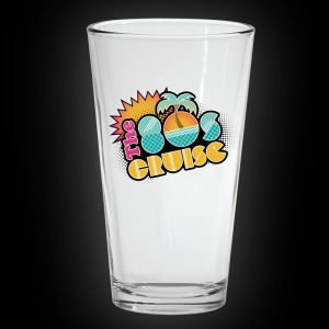 80s Cruise Pint Glass