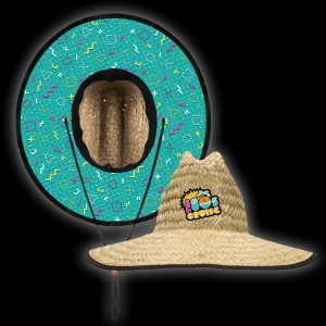 The 80s Cruise Straw Hat